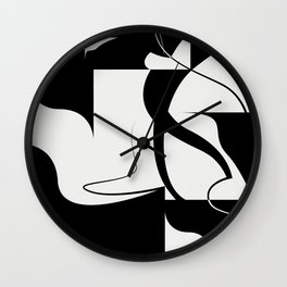 Venice / Abstract Shapes and Lines Wall Clock