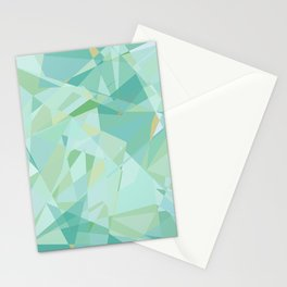 Aqua Jewel Stationery Cards