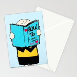 How to conquer a woman's heart Stationery Cards