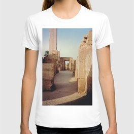 Ruins at the Karnak Temple Complex in Egypt T-shirt