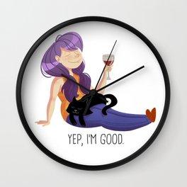 Yep, I'm good. Wall Clock