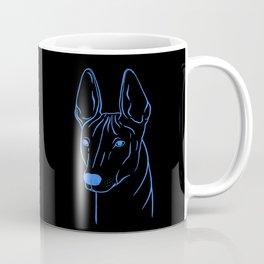 Xoloitzcuintli (Black and Blue) Coffee Mug
