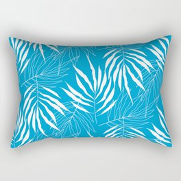 Ash Tree Leaves Scandinavian Pattern Rectangular Pillow