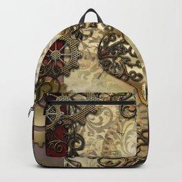 Steampunk, wonderful heart Backpack