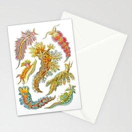 Ernst Haeckel Nudibranch Sea Slugs Stationery Cards