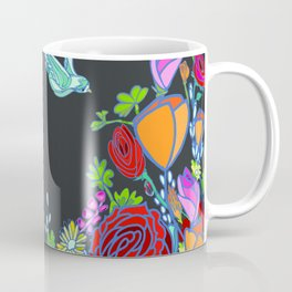 Midnight Flight of the Bluebird Coffee Mug