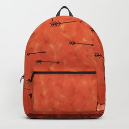 Arrows And Hearts Backpack