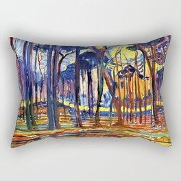 Forest Near Oele - Piet Mondrian Rectangular Pillow