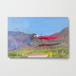 10 Tanker Air Carrier Tanker Jet Putting Out The East Valley Fire on 5/17/2020 Metal Print