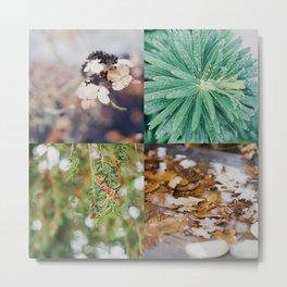 Autumn moodboard Metal Print