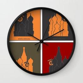 russ.eye Wall Clock