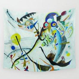 Vassily Kandinsky 1921 Segment blue Wall Tapestry