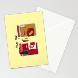 PB & J - High Five Stationery Cards
