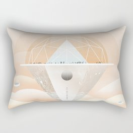 VENUS See You at Cloud 9 Observatory NASA JPL Visions of the Future Space Travel Poster Rectangular Pillow