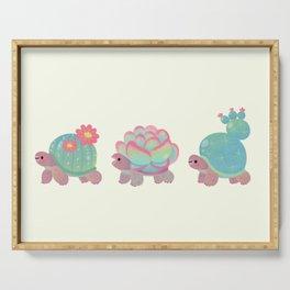 Cactus tortoise Serving Tray