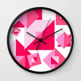 Squaring Off Wall Clock