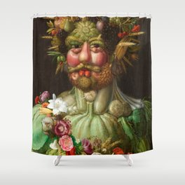 Giuseppe Arcimboldo - Vertumnus Shower Curtain