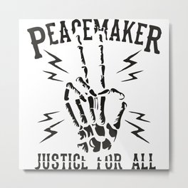 Peacemaker Metal Print