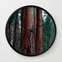 The Word For World Is Forest Wall Clock