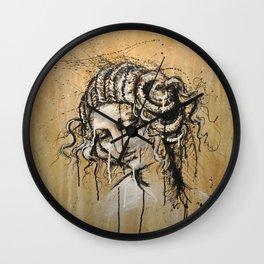 Leda - by Jay Turner Wall Clock
