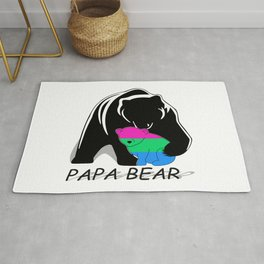 Papa Bear Polysexual Rug