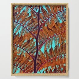 Exotic Tree crossing Serving Tray