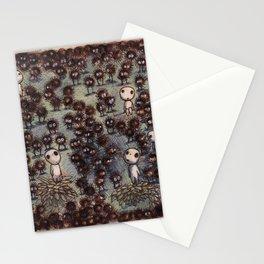 Soot sprites (Susuwatari) Stationery Cards
