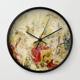 "François Boucher ""The Toilette of Psyche"" Wall Clock"
