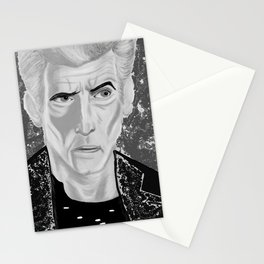 galactic rock star Stationery Cards