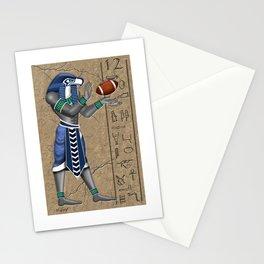 Football Hawk Pharoah Stationery Cards