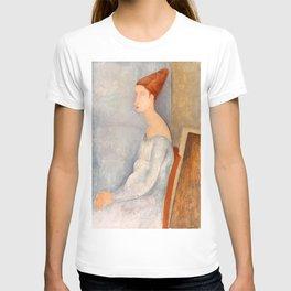 "Amedeo Modigliani ""Portrait of Jeanne Hébuterne"" T-shirt"
