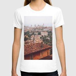 Bergamo cityscape T-shirt