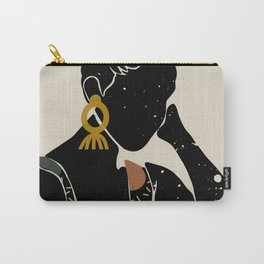 Black Hair No. 6 Carry-All Pouch