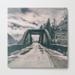 Silence bridge Metal Print