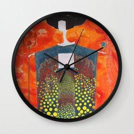 Sun Geisha Wall Clock