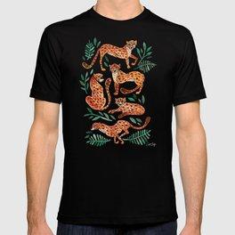Cheetah Collection – Orange & Green Palette T-shirt