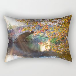 Central Park Morning Rectangular Pillow