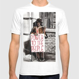 Marsha P. Johnson - POWER TO THE PEOPLE T-shirt