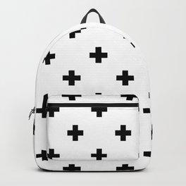 Swiss cross pattern Backpack