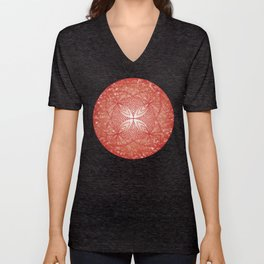 The Root Chakra Unisex V-Neck