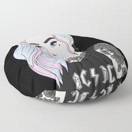 Punk Princess Floor Pillow