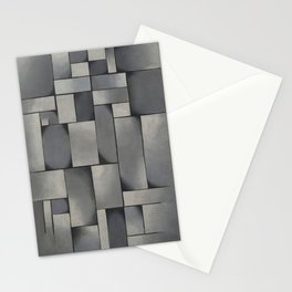 Theo van Doesburg - Composition in Gray - Rag-Time - Abstract De Stijl Painting Stationery Cards