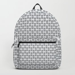 Diamond Hearts Grey Backpack