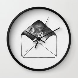 Unforgettable letter Wall Clock