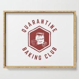 Quarantine Baking Club Serving Tray
