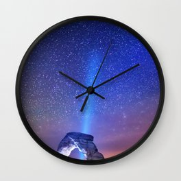 See The Stars Wall Clock