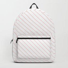 Rose Quartz Stripe Backpack