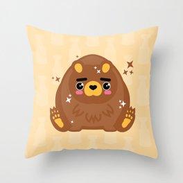 You're Bruining My Life Throw Pillow