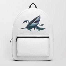 Great White Sharks Backpack