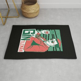 Gintleman Gin Lovers Rug